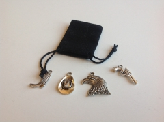 DIY Charms-Cowboy-Set