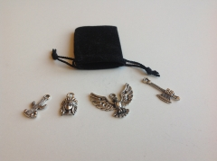 DIY Charms-Indianer-Set