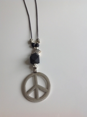Kette Peace and Stars