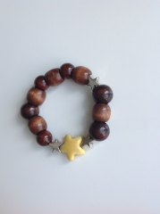Armband Yellow Star